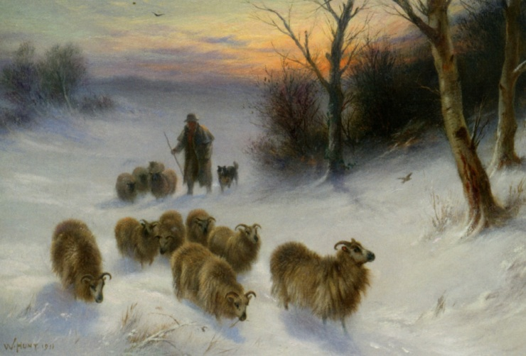 hunt_walter_gathering_strays_1911_oil_on_canvas-large